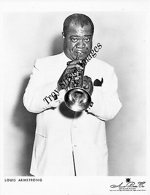 Original promo photo #4 of jazz trumpet legend LOUIS ARMSTRONG, early/mid 1960s