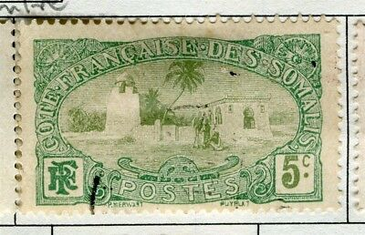 FRENCH SOMALIA;  1909 early pictorial issue used 5c. value