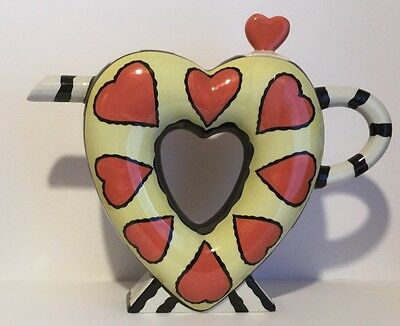 Lorna Bailey Limited Edition Valentine Teapot 9/75