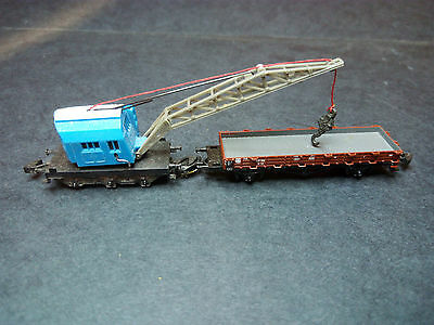 Marklin Z Miniclub crane and flat car good condition unboxed