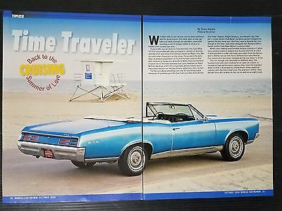 1967 Pontiac GTO Convertible 5-Page Article - Free Shipping