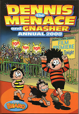 Dennis The Menace & Gnasher Annual 2008 - Excellent Condition