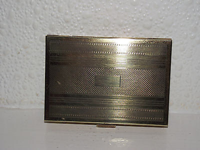 Vintage Powder Compact And Cigarette Case.