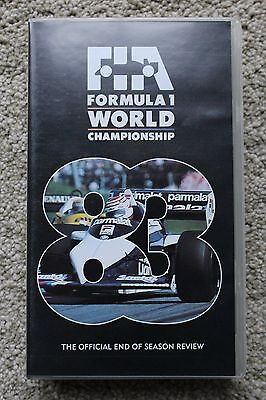 VHS Official 1983 Formula One F1 Season review