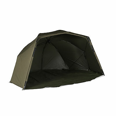"Cyprinus Magnetix Carp Fishing Oval 60"" Brolly + Storm Poles + Ground Sheet"