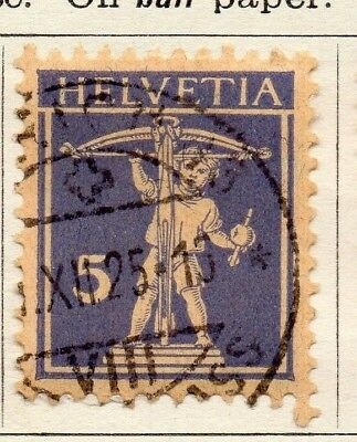 Switzerland 1924-30 Early Issue Fine Used 5c. 133375