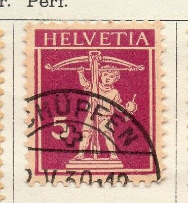 Switzerland 1924-30 Early Issue Fine Used 5c. 133376