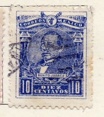 Mexico 1915 Early Issue Fine Used 10c. 133845