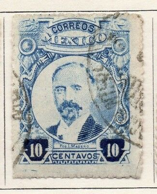 Mexico 1917 Early Issue Fine Used 10c. 133857