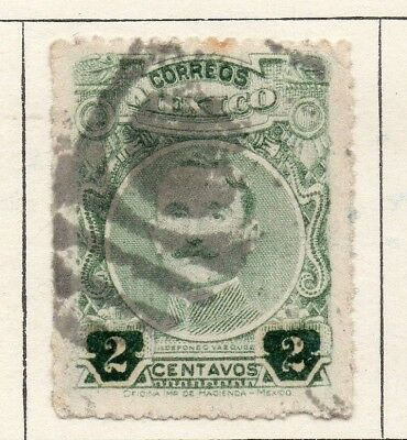 Mexico 1917 Early Issue Fine Used 2c. 133860