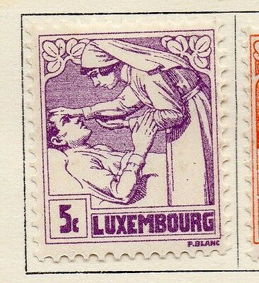 Luxembourg 1925 Early Issue Fine Mint Hinged 5c. 133926