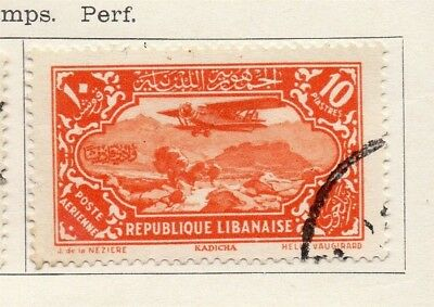 Great Lebanon 1930 Early Issue Fine Used 10p. 133969