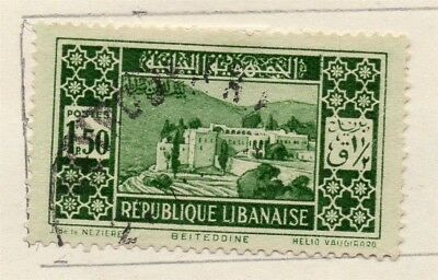 Great Lebanon 1931 Early Issue Fine Used 1.50p. 133978
