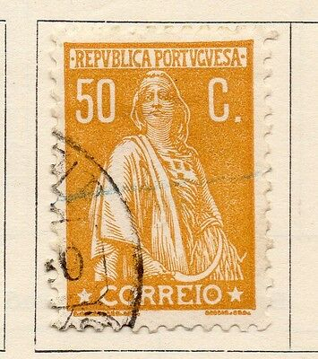 Portugal 1930 Early Issue Fine Mint Hinged 50c. 133640