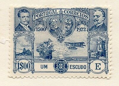 Portugal 1923 Early Issue Fine Mint Hinged 1E. Air Set 133662