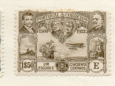 Portugal 1923 Early Issue Fine Mint Hinged 1.50E. Air Set 133663