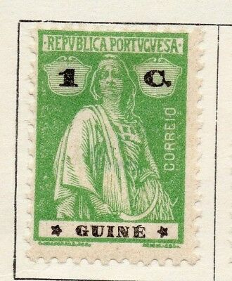 Portuguese Guinea 1922 Issue Fine Mint Hinged 1c. 133675
