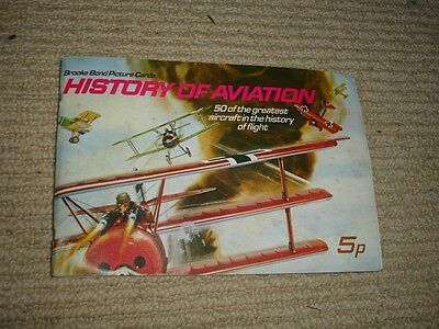 Brooke Bond Picture Cards - The History of Aviation