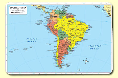 South America Placemat