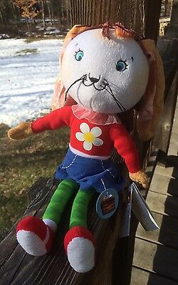Betty Bunny Cloth Doll New With Tags