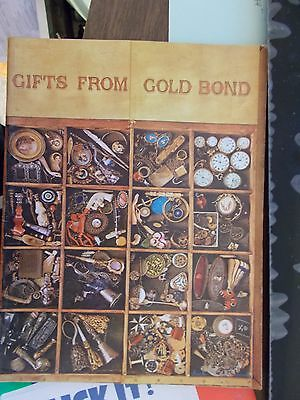 1960S Gold Bond Stamps Catalog Toys Gifts Housewares