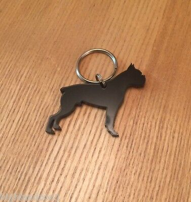 Boxer Dog Keyring/Bag Charm/Gift