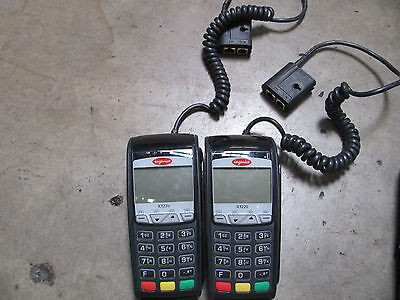 Ingenico ICT220 Credit Card Terminal with Chip Reader M/PN:XKB-ICT220
