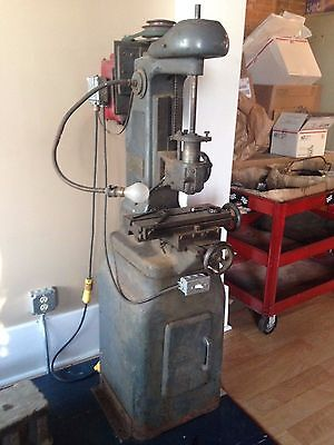 Linley Jig Boring Borer Vertical Mill Machine 120v