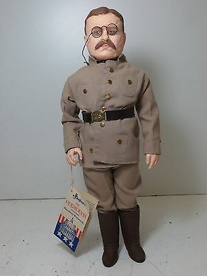 VTG 1984 Effanbee #7903 The Presidents Theodore Roosevelt Doll Action Figure