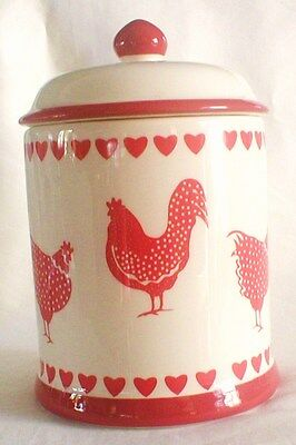 Chicken Canister With Lid