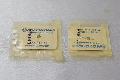 Motorola Semiconductor Gold Optical diode MRD150 Lot of 2