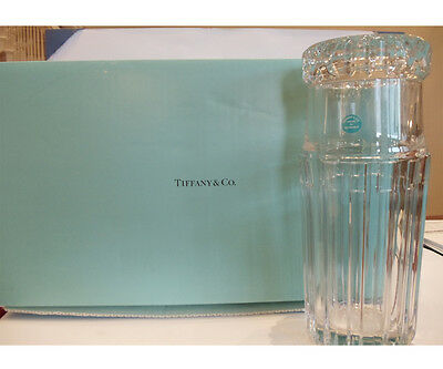 Tiffany Glass Tumble Decanter and Glass with Tiffany & Co. box