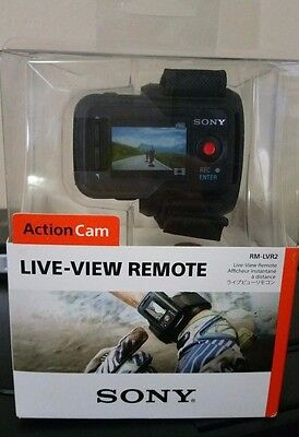 Brand NEW Sony RMLVR2 Live-View Remote for Action Cam (RM-LVR2) SEALED Retail