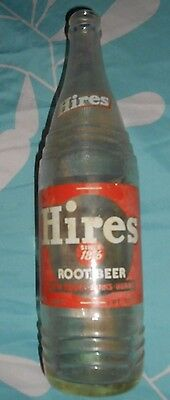 HIRES ROOT BEER  BOTTLE  1 pint 10oz.
