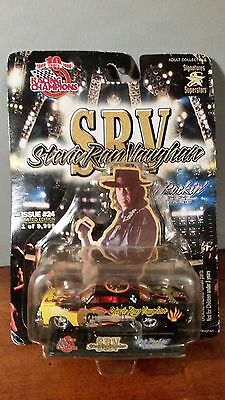 Stevie Ray Vaughan 64 Chevy Impala Die Cast Racing Champions Hot Rockin Car-Nip