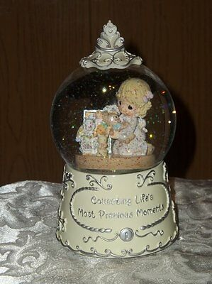 Precious Moments 25Th Anniv Collecting Lifes Most Precious Moments Water Globe