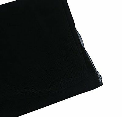 """Shatex Mosquito Netting,Insect Pest Barrier Netting, DIY Fabric,Black, 60""""x5yard"""