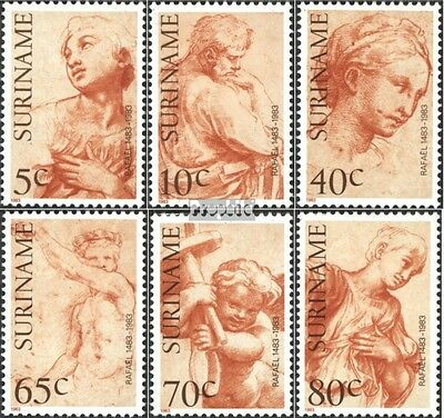 Suriname 1026-1031 (complete issue) unmounted mint / never hinged 1983 Raphael