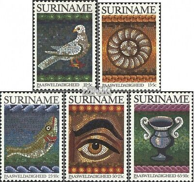 Suriname 1021-1025 (complete issue) unmounted mint / never hinged 1983 Easter