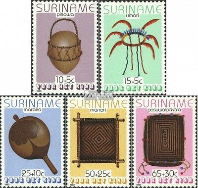 Suriname 1058-1062 (complete issue) unmounted mint / never hinged 1983 Commoditi