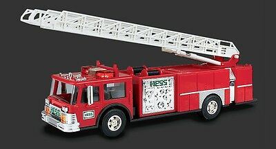 HESS TRUCK Collectible - 1986 Hess Red Fire Truck