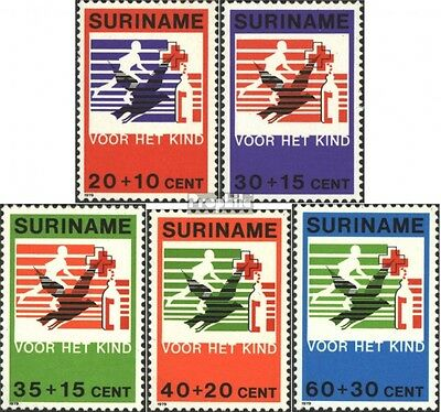 Suriname 883-887 (complete issue) unmounted mint / never hinged 1979 Youth