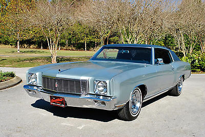 1971 Chevrolet Monte Carlo 35,884 Original Miles! Numbers Matching 350 V8! 1971 Chevrolet Monte Carlo 35,884 Original Miles! Numbers Matching 350 V8