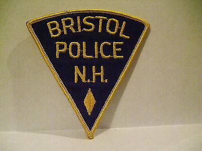 police patch  BRISTOL POLICE NEW HAMPSHIRE
