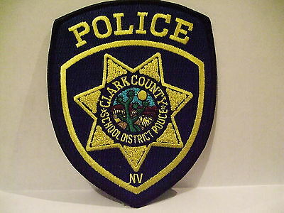 police patch  CLARK COUNTY SCHOOD DISTRICT POLICE NEVADA