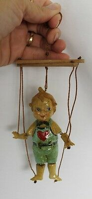 Marionette Puppet on Strings CHRISTMAS ORNAMENT