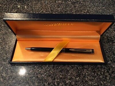 waterman ideal ballpoint with case - excellent condition