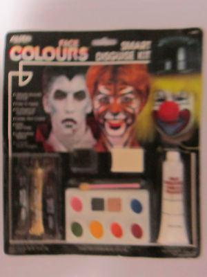 Hallowee Professional Assort Face Paint Disguise Kit Blood Glitter Easy Apply