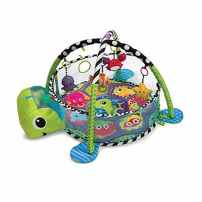 GROW WITH ME ACTIVITY GYM PLAY MAT and BALL PIT Baby Toddler Tummy Time Play NEW