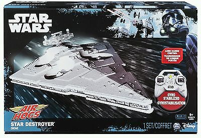 Air Hogs Star Wars Imperial Star Destroyer Remote Control Drone NEW